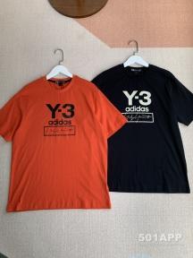 Y-3和阿迪的联名款T恤衫,很基