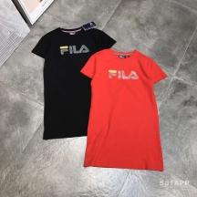 FLI*//专柜新款烫钻圆领